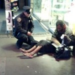 NYPD Larry DePrimo Homeless Boots